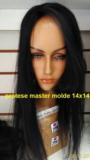 Prótese 50 cm com franjão (TAMANHO 14X14) 90 gramas